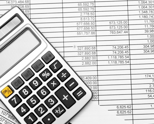 Calculators and spreadsheets